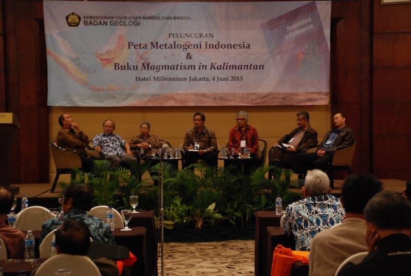Peluncuran Peta Metalogeni Indonesia