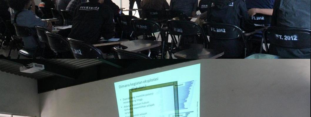 One Day Seminar dan Pelantikan Pengurus SC MGEI Universitas Pakuan 2014