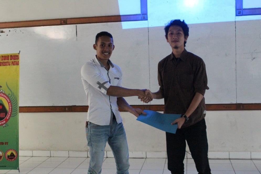 Serah Terima Jabatan Presiden SC MGEI Universitas Pakuan