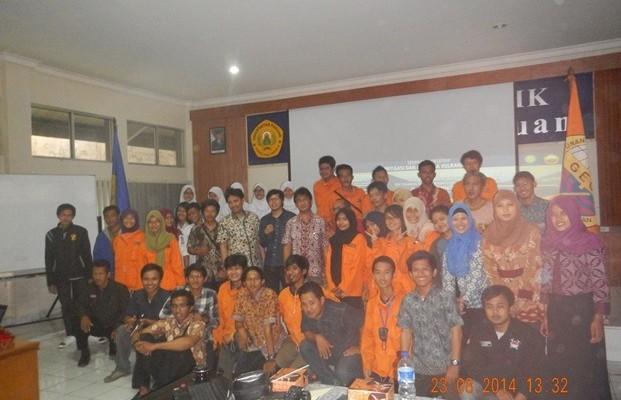 Peresmian SM-IAGI Universitas Pakuan