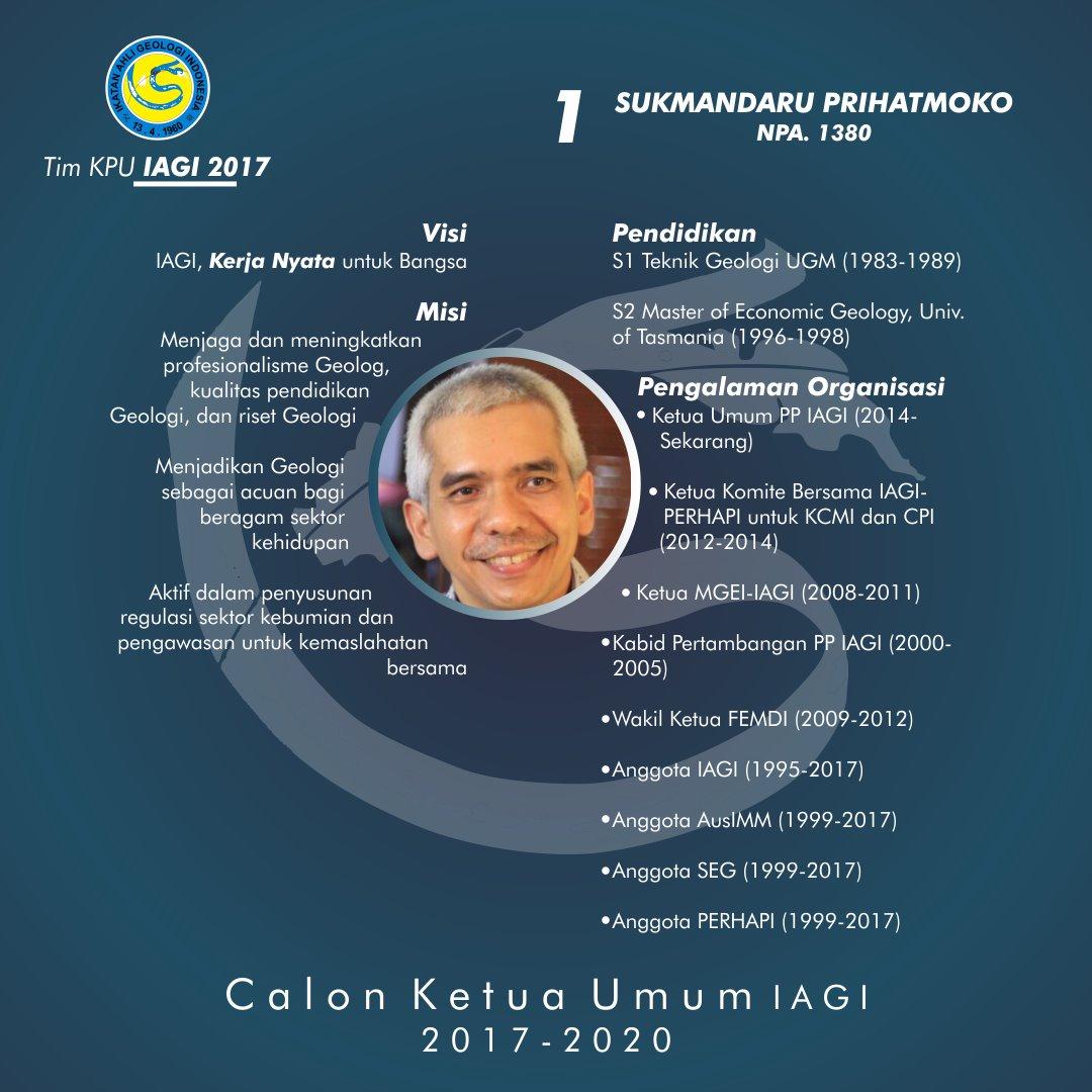 CALON KETUM IAGI 2017 - 2020