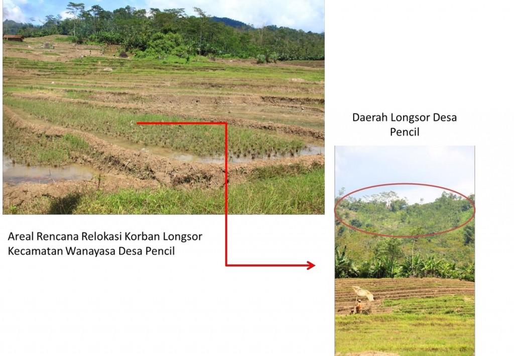 Lokasi Relokasi Desa Pencil
