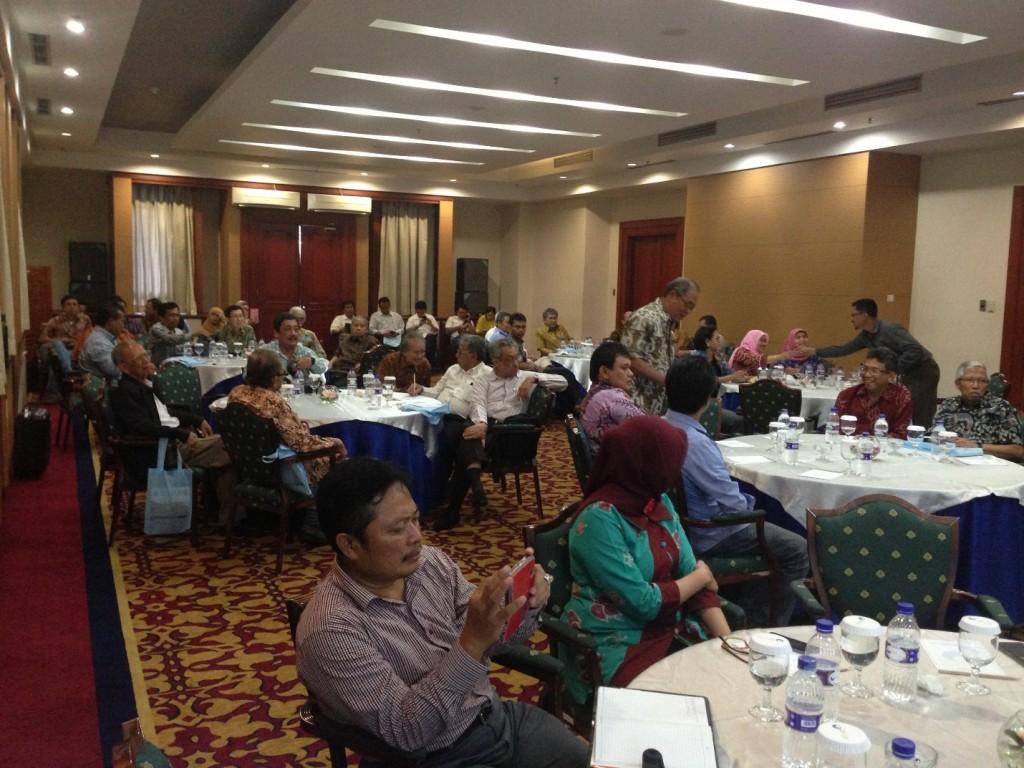 Suasana hadirin di acara peringatan ulang tahun IAGI ke-55