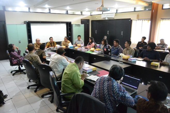 Rapat penyusunan pengurus lengkap MAGI yang diikuti oleh wakil-wakil pemerhati geowisata