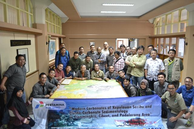 Pasca acara core session di kampus Teknik Geologi ITB
