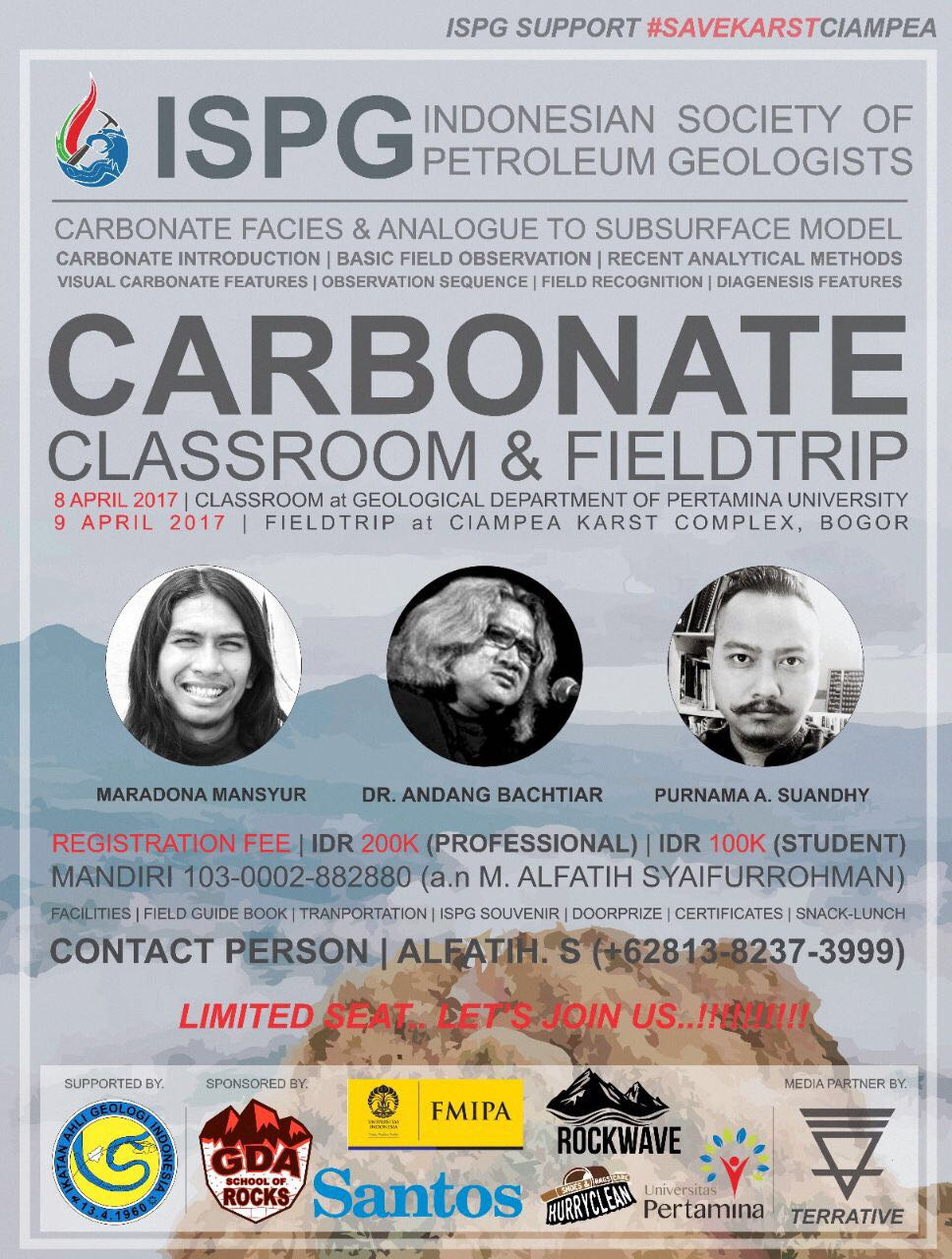 ISPG CARBONATE CLASSROOM & FIELDTRIP