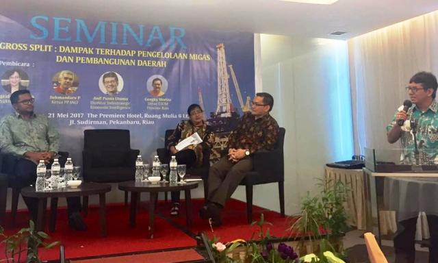 Seminar GrossSplit Pengda Riau 2017 foto1