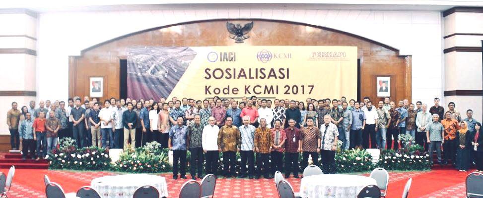 Foto bersama CPI peserta Sosialisasi Kode KCMI 2017