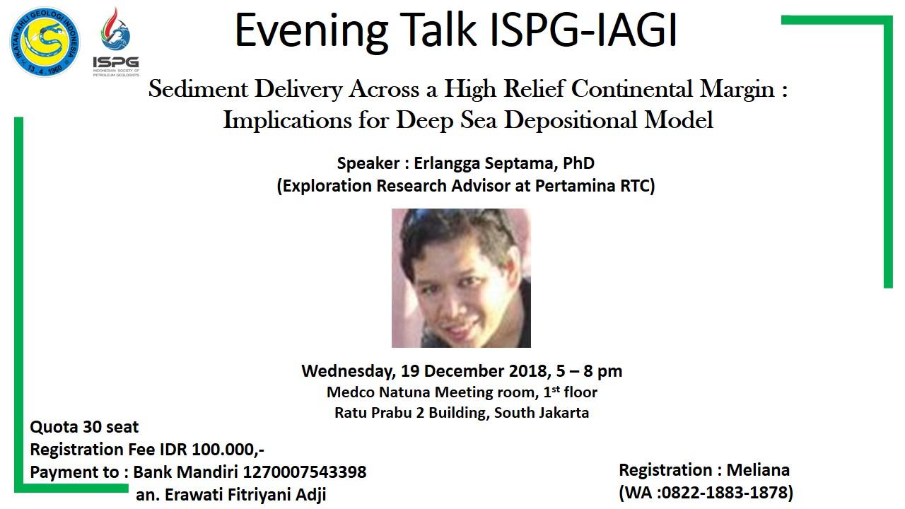 Evening talk ispg iagi 20181219