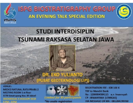 ispg evening talk 20190109